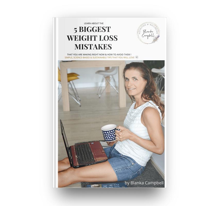 5 Biggest Weight Loss Mistakes eBook by Blanka Campbell